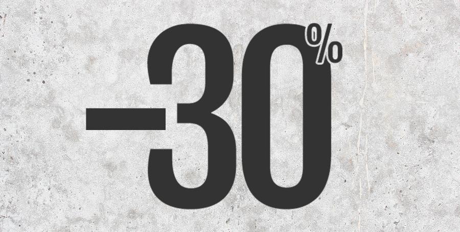 30% Korting!