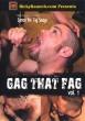 Gag that Fag volume 1 DVD - Front