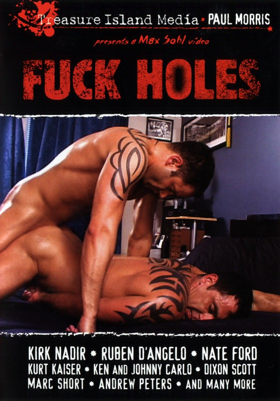 Fuck Holes DVD - Front