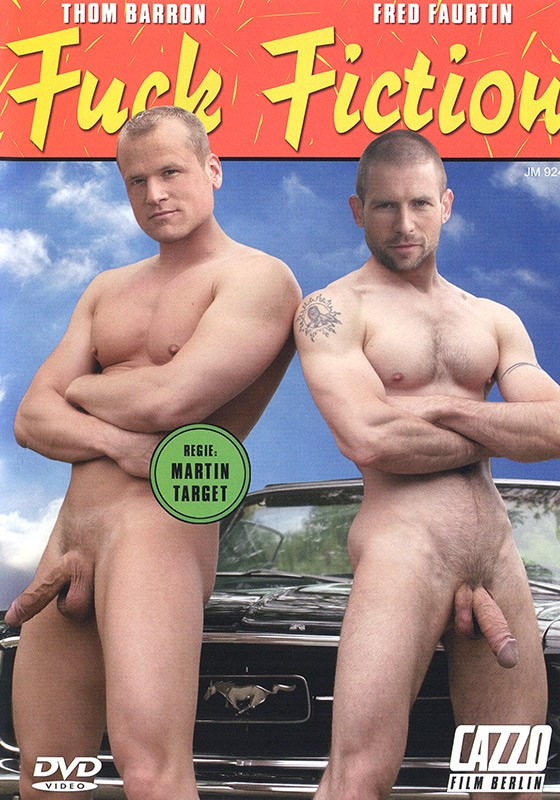Fuck Fiction DVD - Front