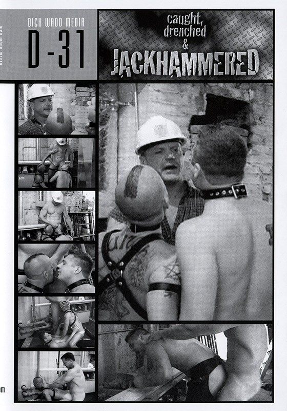 Caught, Drenched & Jackhammered DVD - Front