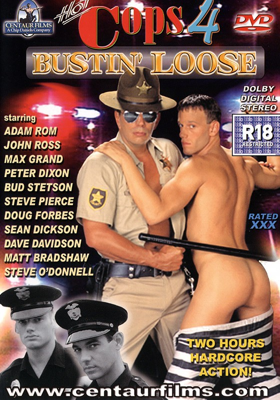 Hot Cops 4: Bustin' Loose DVD - Front