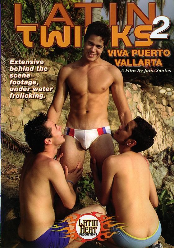 Latin Twinks 2: Viva Puerto Vallarta DVD - Front