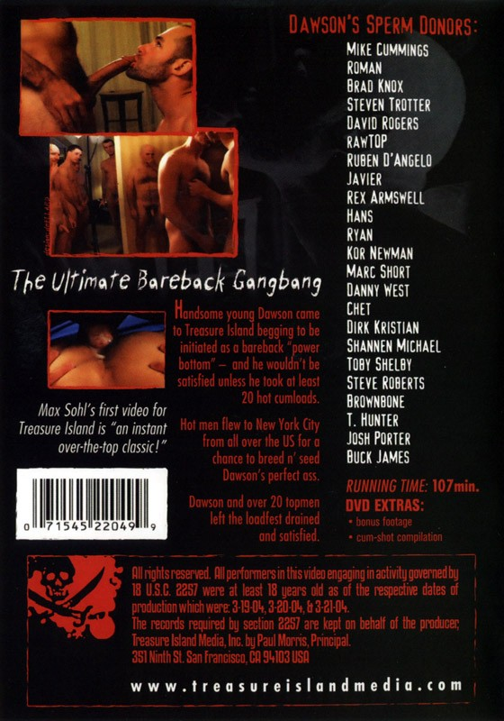 Dawson's 20 Load Weekend DVD - Back