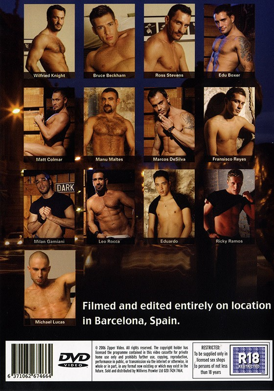 Barcelona Nights DVD - Back