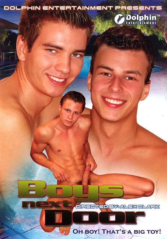 Boys Next Door DVD - Front