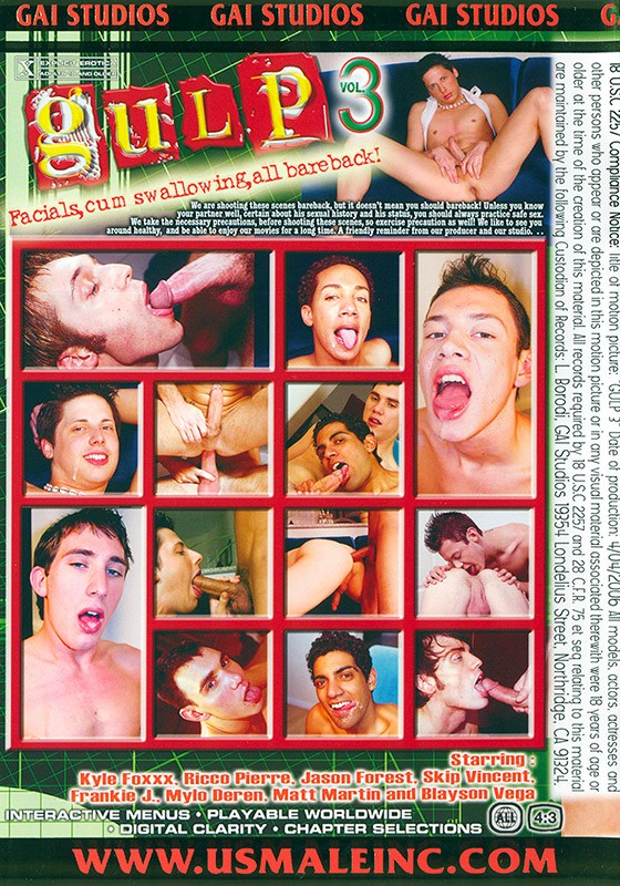 Gulp #3 DVD - Back