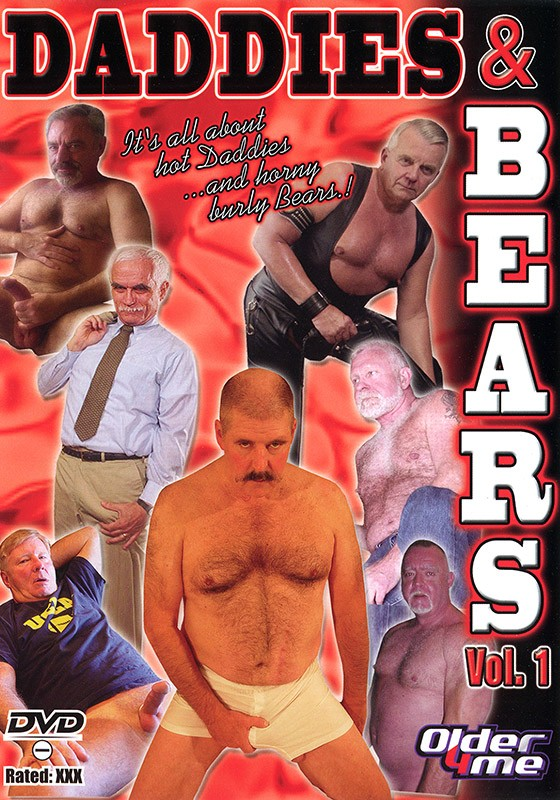 Daddies & Bears volume 1 DVD - Front