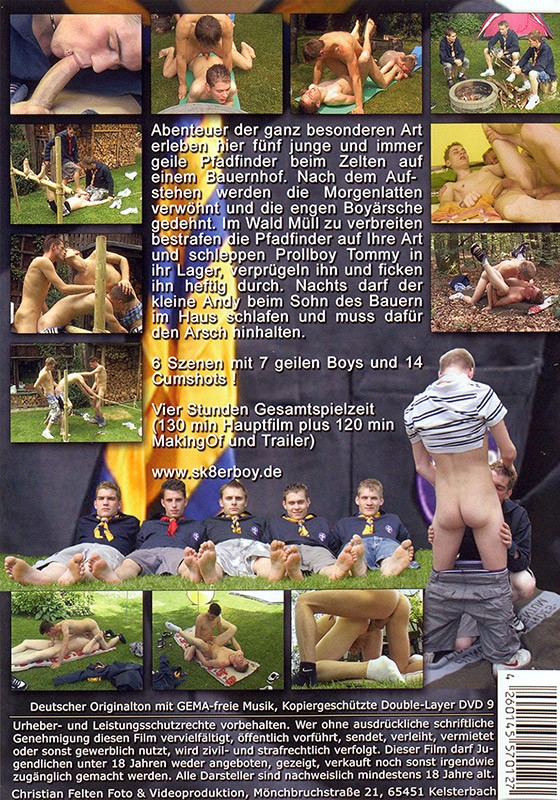 Fucking Scouts DVD - Back
