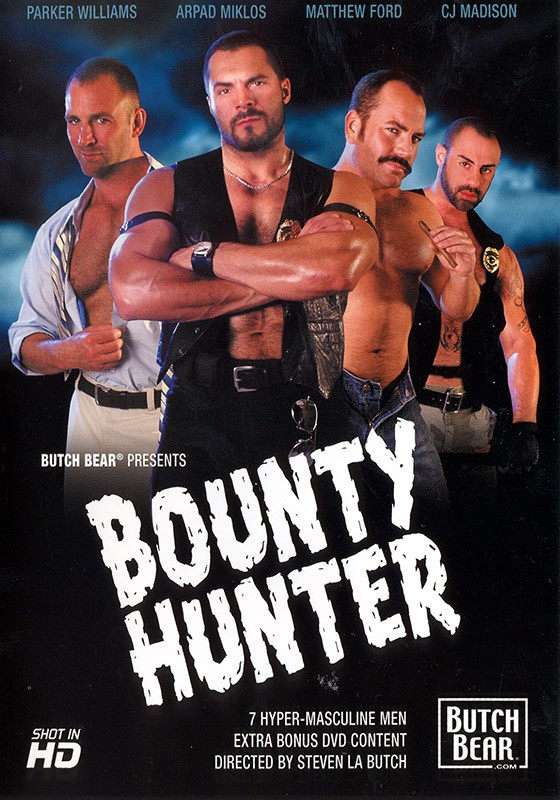 Bounty Hunter DVD - Front