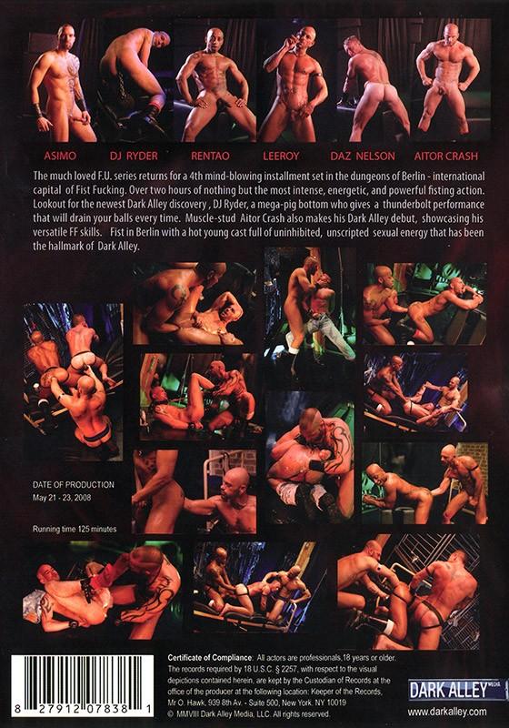 Fisting Underground Berlin part 1 DVD - Back