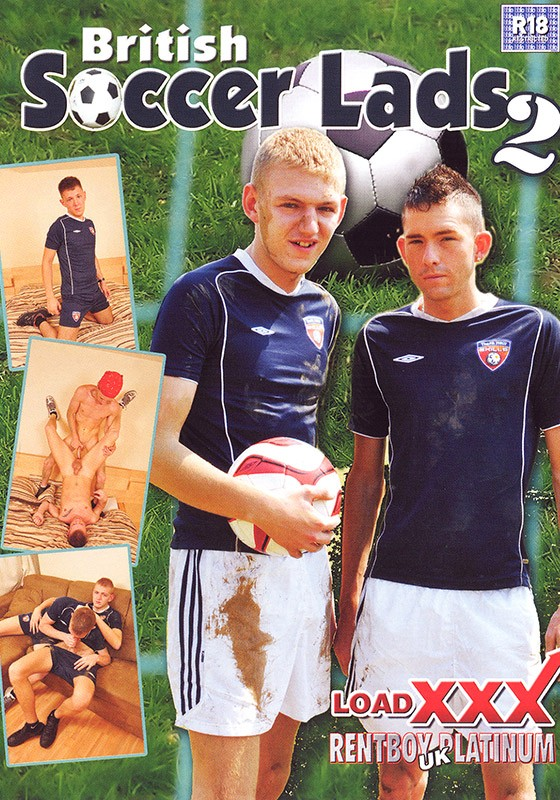 British Soccer Lads 2 DVD - Front
