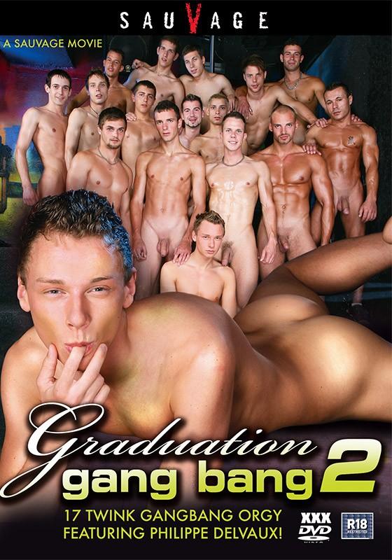Graduation Gang Bang 2 DVD - Front