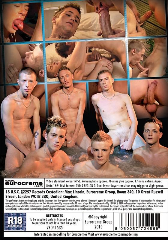 Hung Ladz: Monster Cock Orgy DVD - Back
