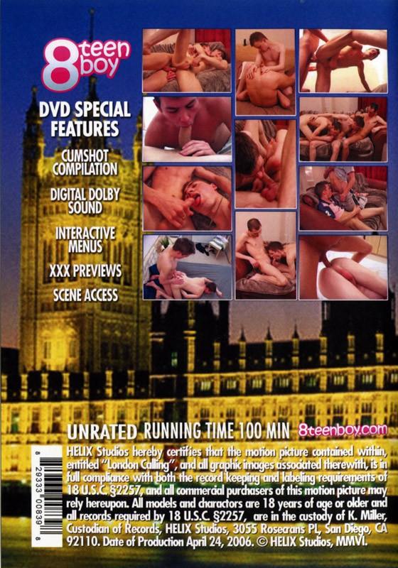 London Calling DVD - Back