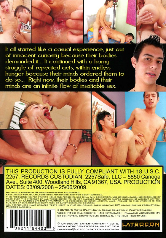 Marked by Pleasure DVD - Back