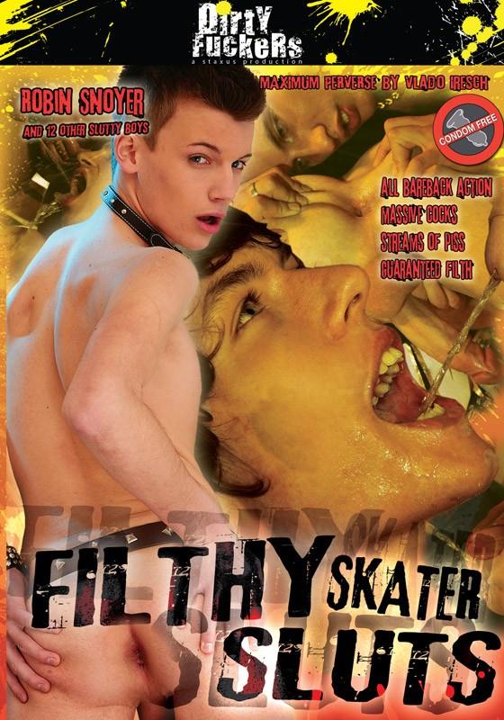 Filthy Skater Sluts DVD - Front