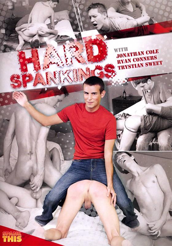 Hard Spankings DVD - Front