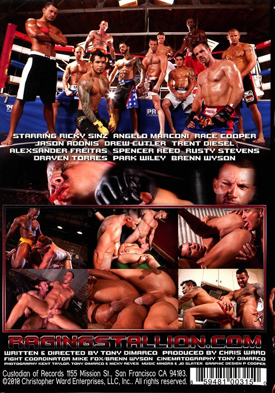 Brutal 1 DVD - Back