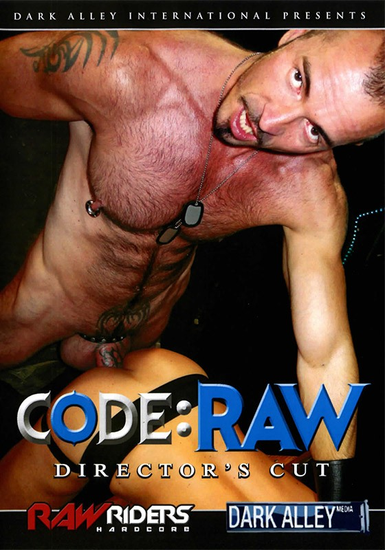 Code: Raw DVD - Front