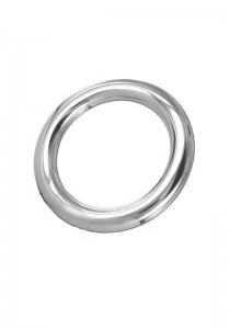 Stainless Steel Round Cock Ring 10 mm.