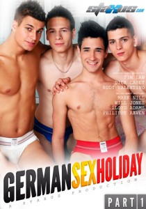 German Sex Holiday Part 1 DVD (NC)