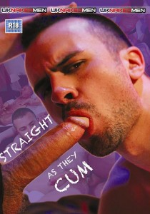 Straight As They Cum DVD