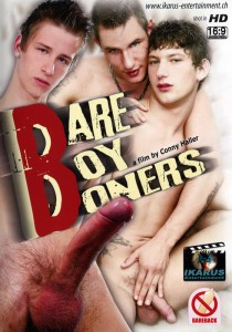 Bare Boy Boners DVD - Front