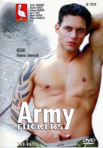 Army Fuckers (Pelikan Video) DVD - Front