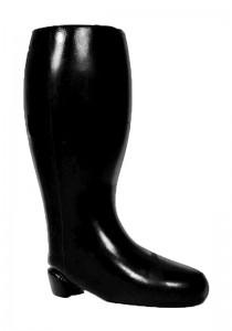 All Black AB61 Dildo - Front