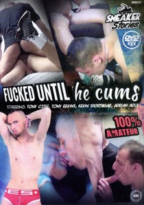 Fucked Untill he Cums DVD