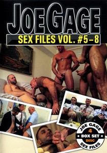 Joe Gage Sex Files vol. #5-8 DVD