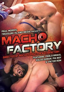 Macho Factory DVD