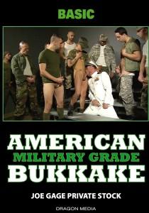 American Bukkake: Military Grade DVD