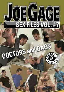 Joe Gage Sex Files vol. #7 Doctors & Dads DVD (S)
