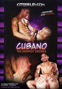 Cubano His Deepest Desire DVD (NC)