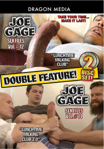 Joe Gage Double Feature: Sex Files 12 & 14 DVD (S)
