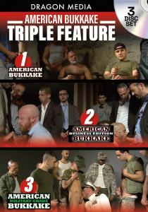 American Bukkake Triple Feature DVD